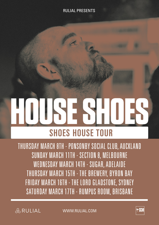 HOUSE SHOES AUSTRALIA & NEW ZEALAND TOUR
