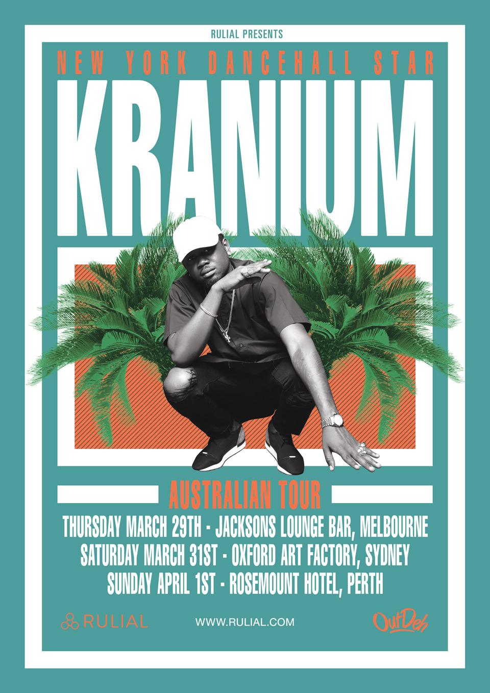 KRANIUM AUSTRALIAN TOUR