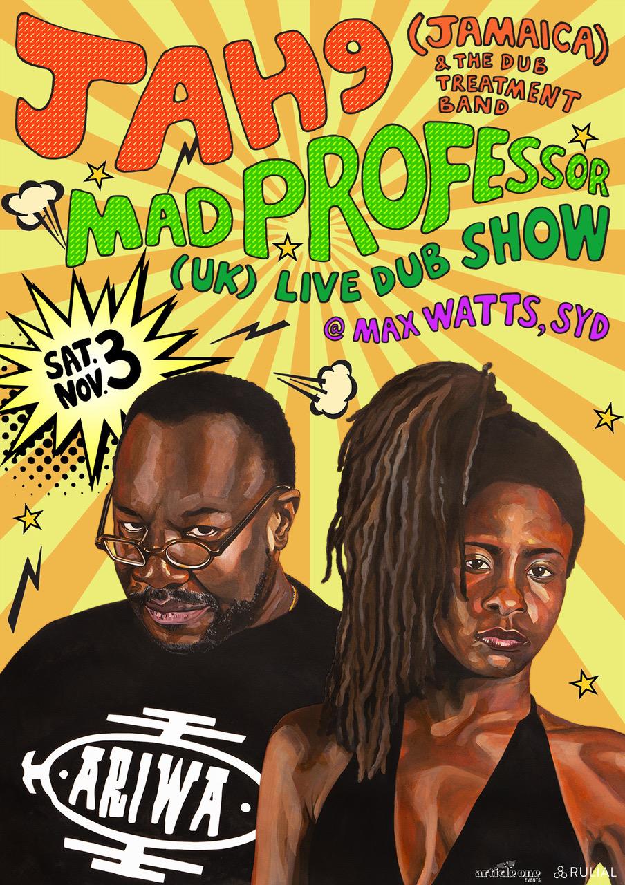 JAH9 & MAD PROFESSOR SYDNEY SHOW