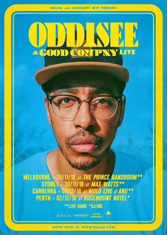 ODDISEE & GOOD COMPNY AUSTRALIAN TOUR