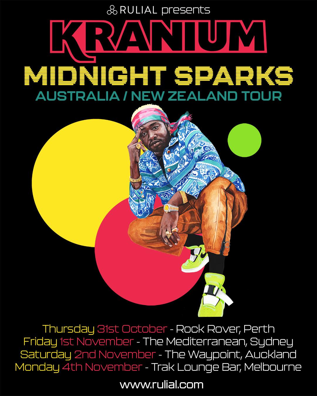 KRANIUM AUSTRALIA & NEW ZEALAND TOUR