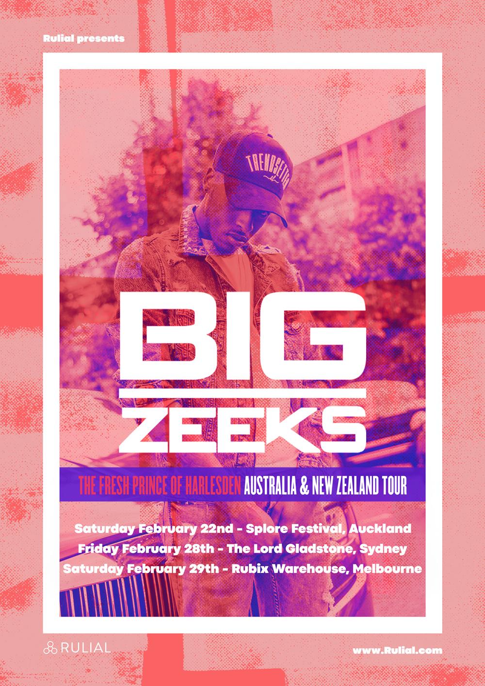 BIG ZEEKS AUSTRALIA & NEW ZEALAND TOUR